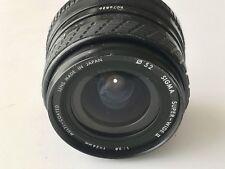 Minolta MD Fit - Sigma 24mm F2.8 Super Wide Angle Manual Focus Lens