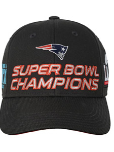 New England Patriots Super Bowl 51 Champions Youth Structured Adjustable Hat