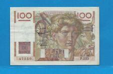 Billet 100 FRANCS  Jeune Paysan 2-1-1953  P.523
