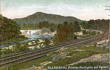 c1905 Boston & Albany Railroad B&A RR Series -nr Huntington & Russell Postcard