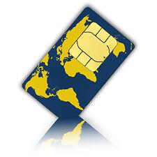 Prepaid WorldSIM  (Tel/SMS/Daten) Standard/Micro & Nano SIM-10 Euro