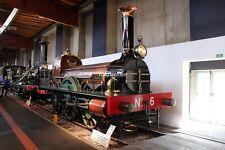 B527 35mm Slide Cie Avignon Marseille No. 6 'L'Aigle' 2-2-2 @ Cité du Train