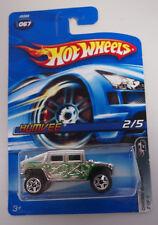 Hot Wheels CHROME BURNEZ RIDES HUMVEE 2/5 1:64