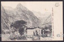 SONDRIO VAL MASINO 04 SAN MARTINO - BAGNI MASINO Cartolina 1906