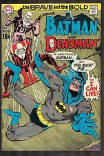 Brave and the Bold #86 ~ Deadman! / Neal Adams Cvr ~ 1969 (5.0) Wh