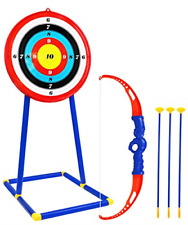 Toy Archery Set For Kids W Target Bow & Arrow Toys Age 5 6 7 8 9 Years Old Boys