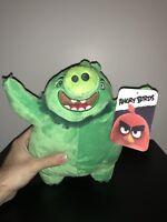 Angry Birds Leonard Plush Doll Toy Factory Stuffed Animal Green Pig Rovio Movie