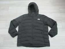The North Face Mens La Paz Goose Down 600 Fill XXL Black Hooded Jacket Hoodie