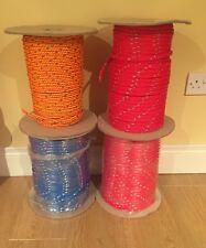 10mm Reflective Polyethylene Hollow Braid Rope (Mushers Rope Mushing Gangline)