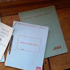 More details for vintage bea managerial & civil aviation act training notes 1960s free p&p