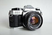 [EXCELLENT] Canon AE-1 Program   + FD 50mm f/1.8   FILM TESTED   A-1 F-1