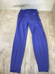 Patagonia Capilene Base Pants Long Underware Warm Blue Purple USA Men's Size L