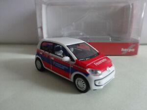 """Herpa 091534 VW up! 4-türig """"Feuerwehr Augsburg""""  1/87 Neuware"""