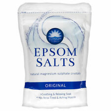 Epsom Bath Salts Spa Soak Natural Magnesium Sulphate Muscle Aches Pains ORIGINAL