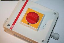 Interrupteur sectionneur en coffret ABB  OP25BA3M VMC
