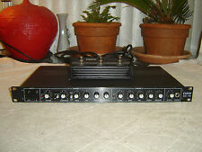Carvin SX-15 with Footswitch, Guitar Preamp, Spring Reverb, Eq, Vintage Rack
