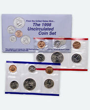 1998 United States US Mint Uncirculated Coin Set SKU1404