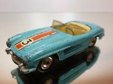 CORGI TOYS MERCEDES BENZ 300 SL ROADSTER #3 - BLUE 1:43 - GOOD CONDITION