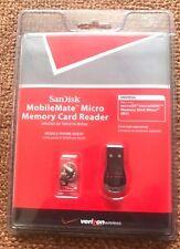SanDisk MobileMate Micro Memory Card Reader SSDR-121S-V11M Universal- (NN1)