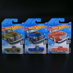 Hot Wheels - Lot of 3 - '52 Chevy, '52 Chevy and '49 Ford F1 - Brand New
