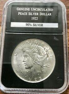 USA 1922 MORGAN 90% SILVER 1 DOLLAR UNC 1$ COIN