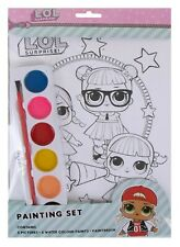 LOL Surprise PAINTING SET Kids Colouring Activity Paint Your Own Art Craft Gift