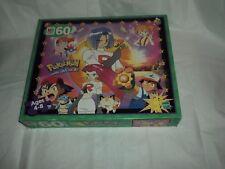 VTG POKEMON 60 Piece Puzzle 1999 Milton Bradley, Hasbro, Nintendo RARE New