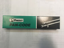 Panduit PCM-1 Wire Marker Cards, 5 card new sealed pack