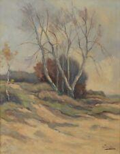 "JOHANNES ANTONIUS ( ANTON ) JAKMA 1880-1967 20x16"" Impressionist Landscape Dutch"