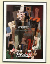 Picasso Marken, Block aus Dominica  postfrisch ** (GE1)