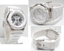 Casio Womens BGA110-7B Baby-G Resistant White Analog Watch