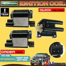 3x Ignition Coil for Mitsubishi Triton Challenger Pajero 3.0L 3.5L 2 Pins 97-08