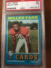 1971 Topps PSA 7 Miller Farr #69