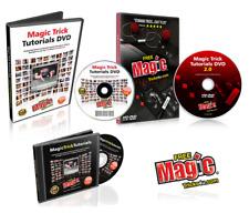 Magic Trick DVD Bundle - Learn Amazing Magic Tricks / How To Do Illusions