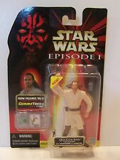 Star Wars Episode 1 The Phantom Menace Qui-Gon Jinn Jedi Master MOC 1999 TPM