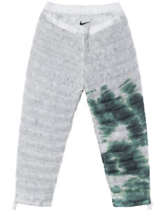 NIKE x STUSSY *NIB* Insulated Pants Size M White/Gorge Green