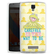 ZTE Blade L5 Silikon Hülle Case Handyhülle - Muppets Carefree is the way to be