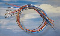 5x 25cm Reparatur-Leitungen Kabel 0,35mm² 000979018EA Kontakt VW Audi Seat BMW