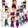 Women Ladies Lyrical Dress Ballet Gymnastics Leotard Unitards Dancewear Costume