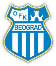 OFK Beograd FC Serbia Soccer Football Car Bumper Sticker Decal 4'' x 5''