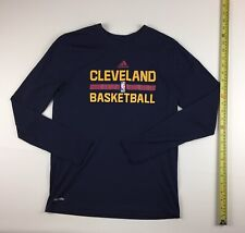 Adidas Nba Cleveland Basketball Cavaliers Youth Large 14/16 Climate T Shirt