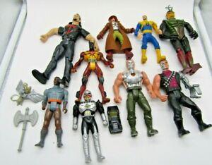 Random Lot of 80s/90s Toys Action Figures, Terminator, Marvel, Aliens, Batman