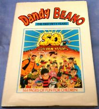 Dandy Beano: The First Fifty Years Hardback Dust-Jacket 1987