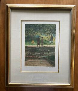 "Harold Altman Lithograph ""September 1982 IV"" artist proof, signed, Mourlot Paris"