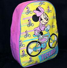VINTAGE 90s Disney Rosa Tour de Minnie Mouse ESCUELA LIBROS Mochila imaginings3