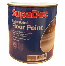 SupaDec Industrial Floor Paint 1 Litre Light Grey