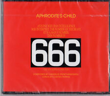 ROUSSOS VANGELIS 4CD APHRODITE'S CHILD 666 +END OF THE WORLD + IT'S FIVE O'CLOCK