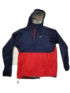 Patagonia Men's Torrentshell 1/2 Zip Pullover- Lrg