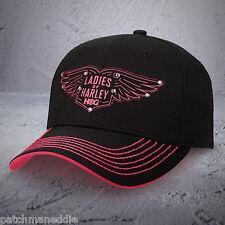 """Harley Davidson """"Ladies of Harley"""" HOG Ball cap NEW NICE NWT Rebel fit"""
