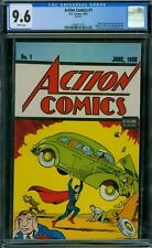 Action Comics 1 CGC 9.6 - White Pages - 1992 Reprint